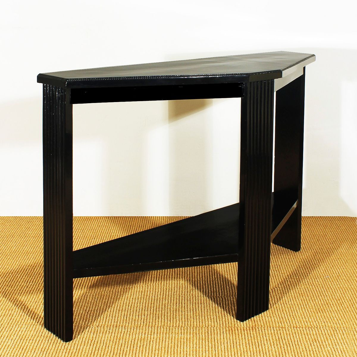 small art deco console by palau i oller for sale at pamono. Black Bedroom Furniture Sets. Home Design Ideas