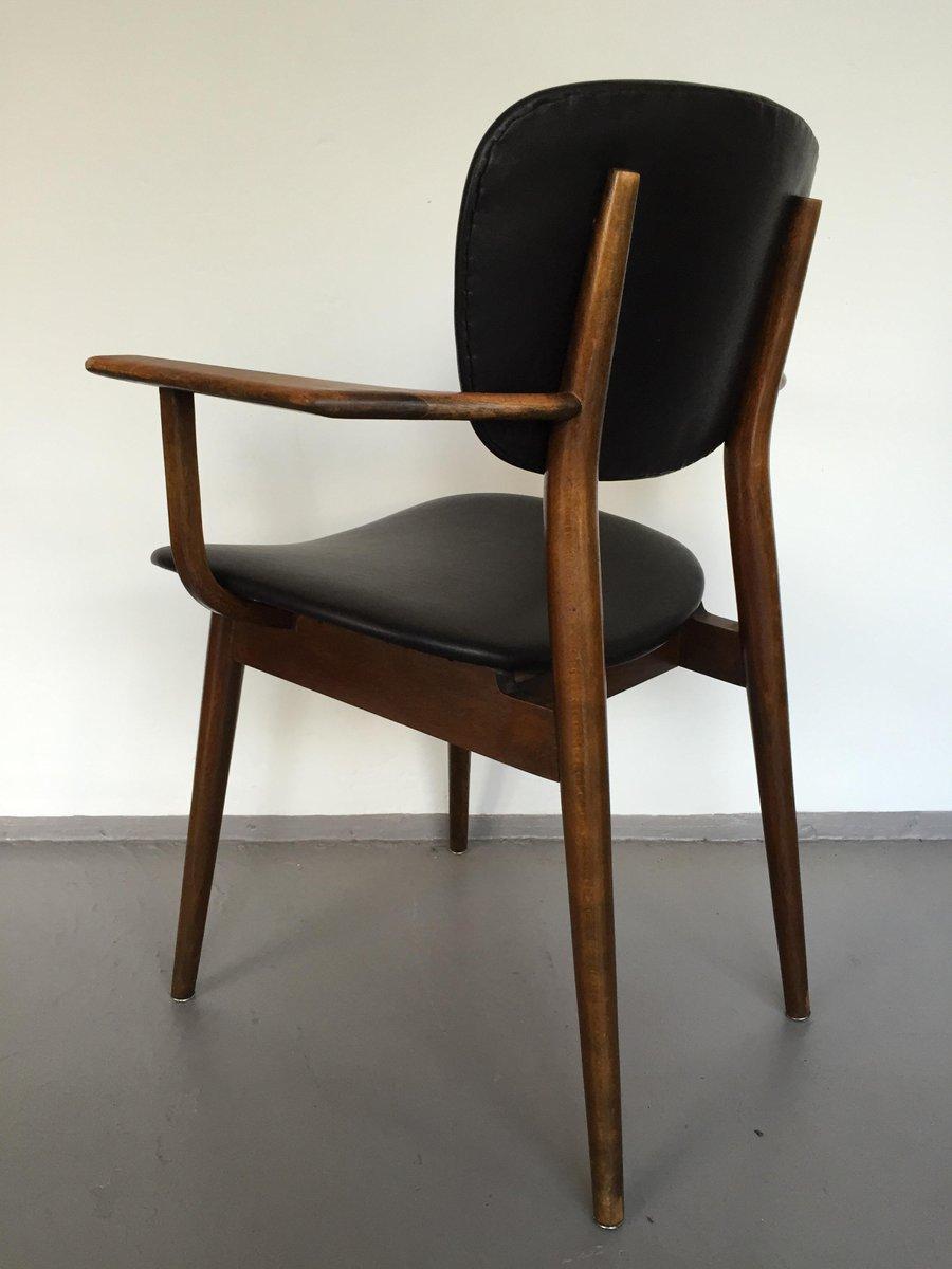 lederst hle 1950er 5er set bei pamono kaufen. Black Bedroom Furniture Sets. Home Design Ideas