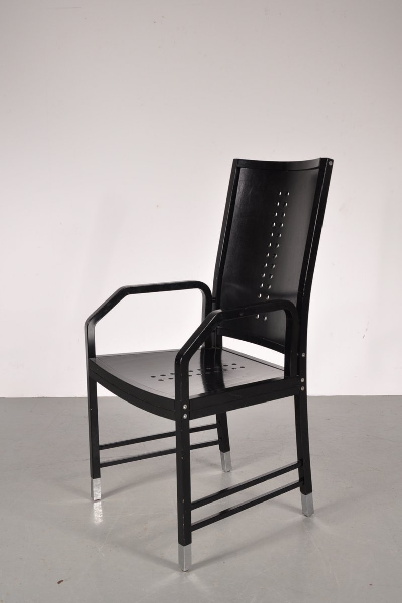 Black Wood Dining Chairs Black Wooden Dining Chair By Michael Thonet For Thonet 1930s For