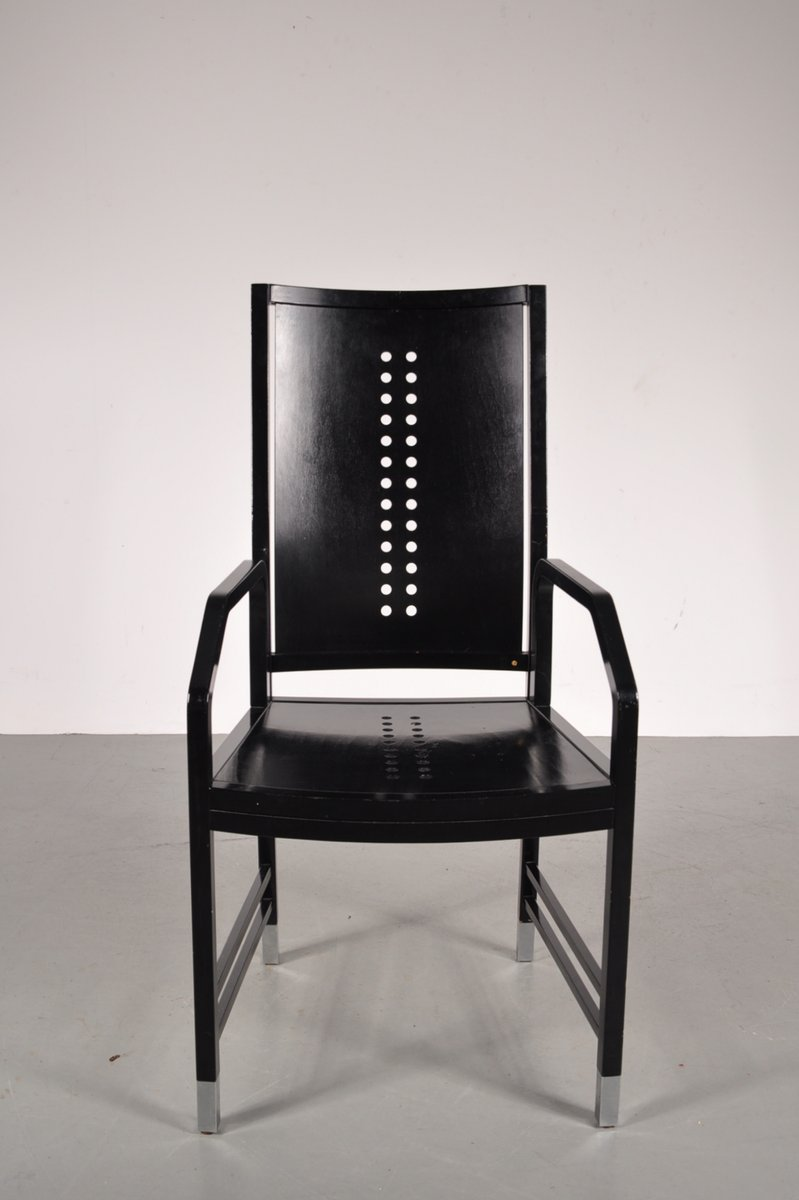 Black Wooden Dining Chair by Michael Thonet for Thonet 1930s for – Thonet Dining Chair