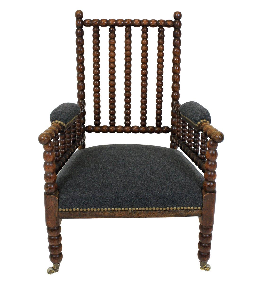 english oak bobbin chair 1840s for sale at pamono