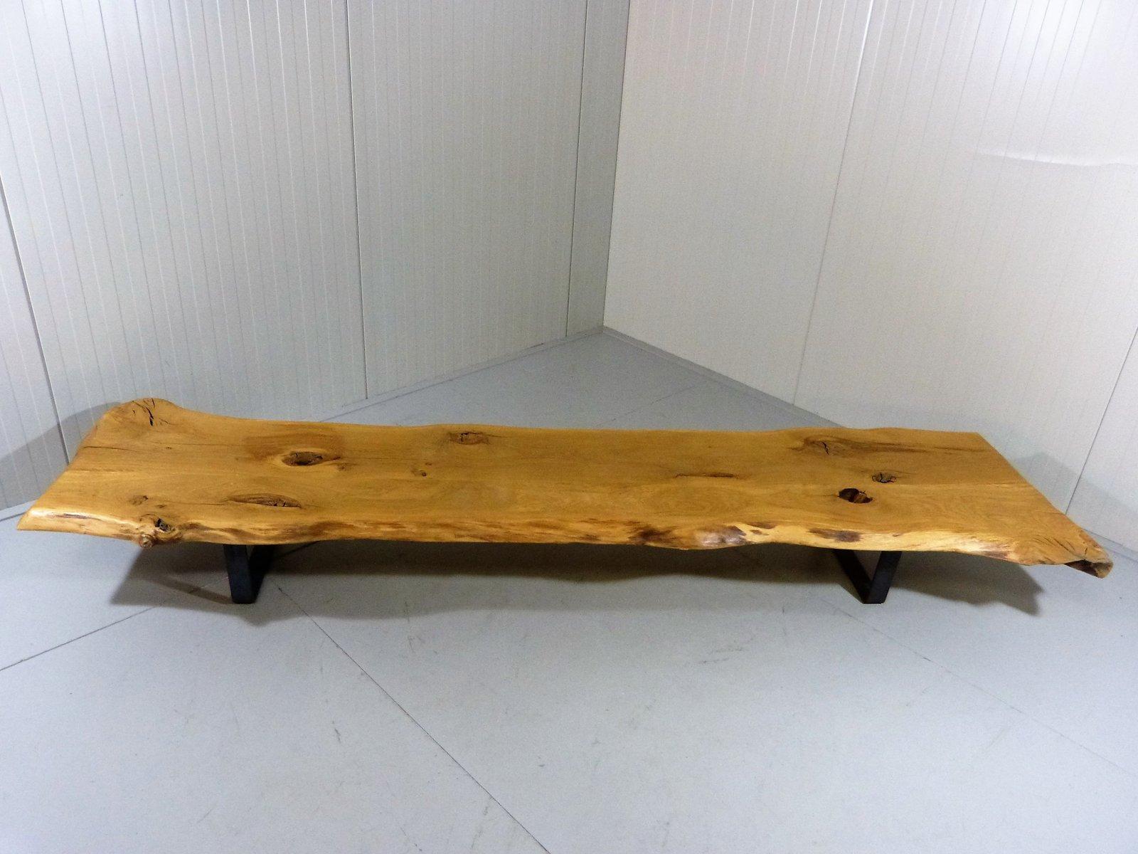 table basse large tronc d 39 arbre en vente sur pamono. Black Bedroom Furniture Sets. Home Design Ideas
