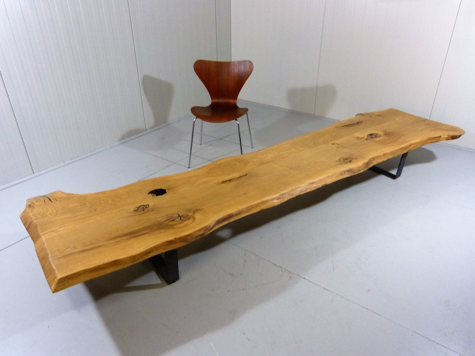 Table basse large tronc d 39 arbre en vente sur pamono - Table basse tronc d arbre ...