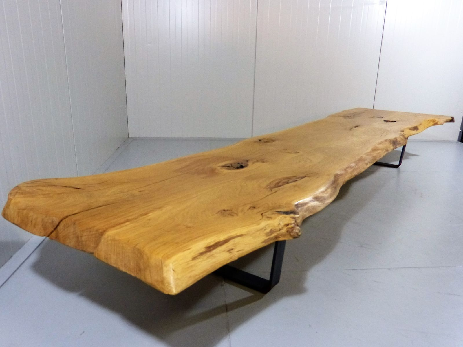 Large tree trunk coffee table for sale at pamono for Wood stump end table