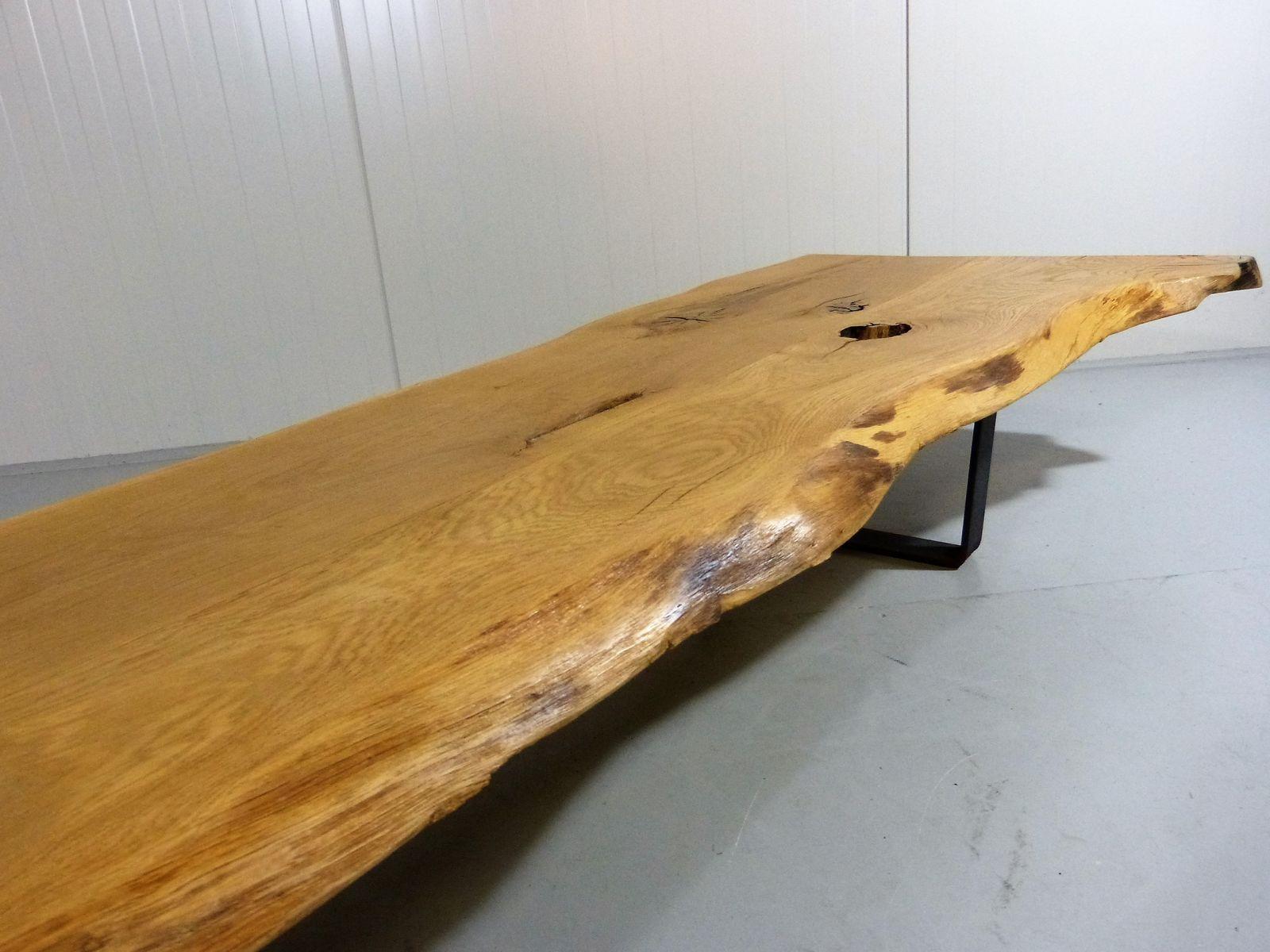 Baumstamm Als Couchtisch Leuchte Baumscheiben Tisch Oder