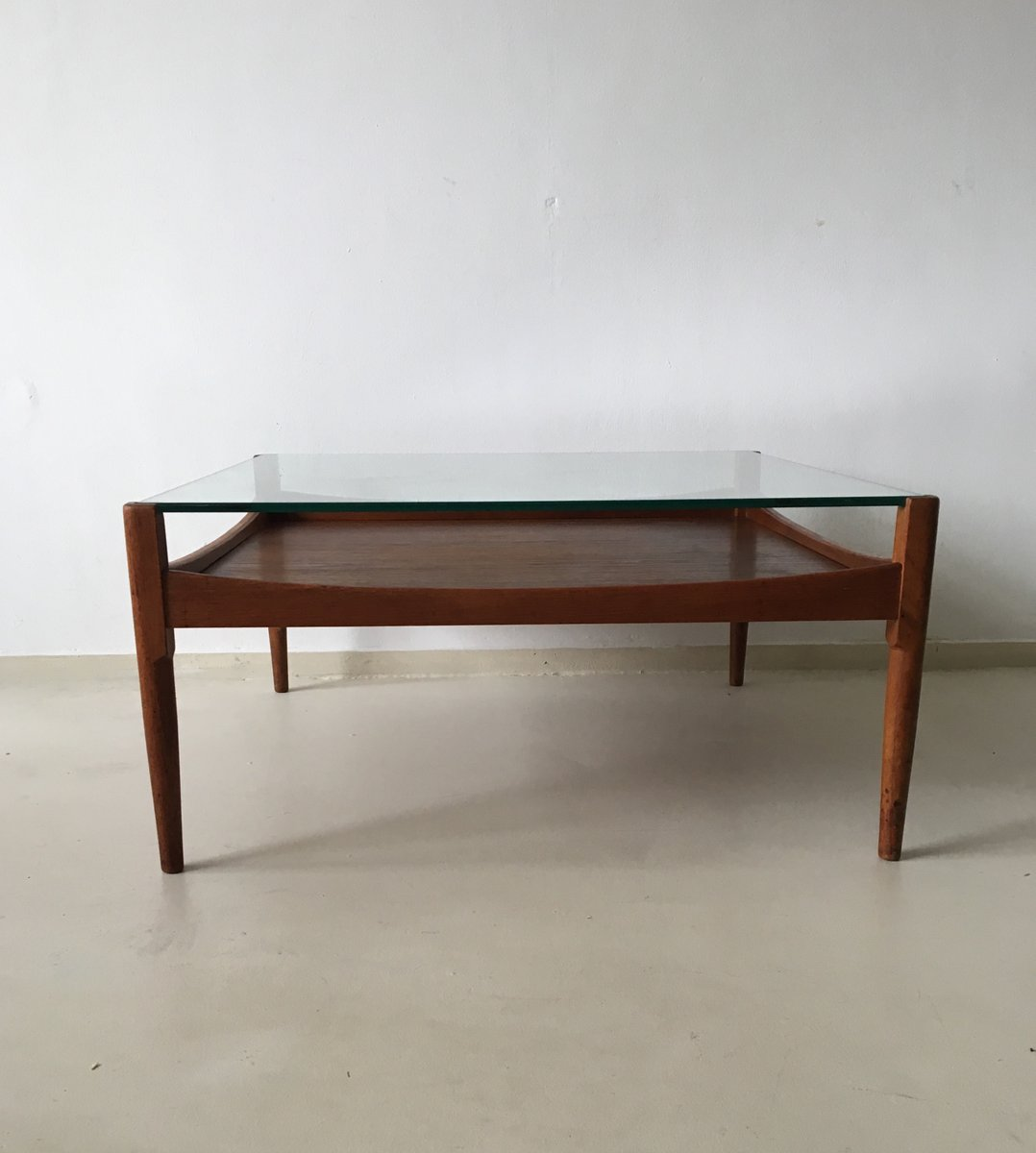 Vintage Rosewood Coffee Table 1950s For Sale At Pamono