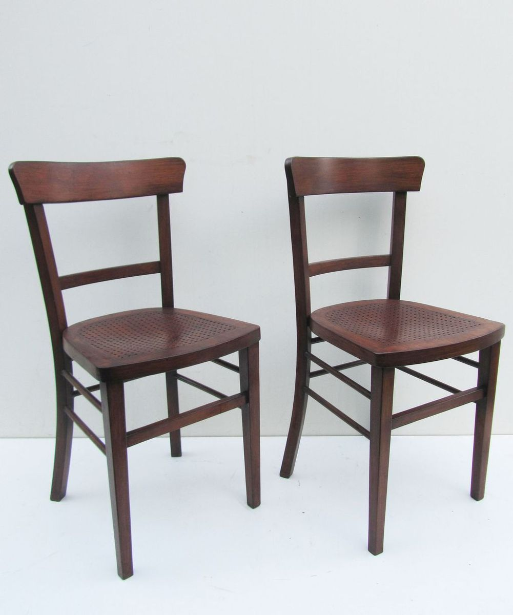 bistro st hle von michael thonet f r thonet 2er set bei pamono kaufen. Black Bedroom Furniture Sets. Home Design Ideas