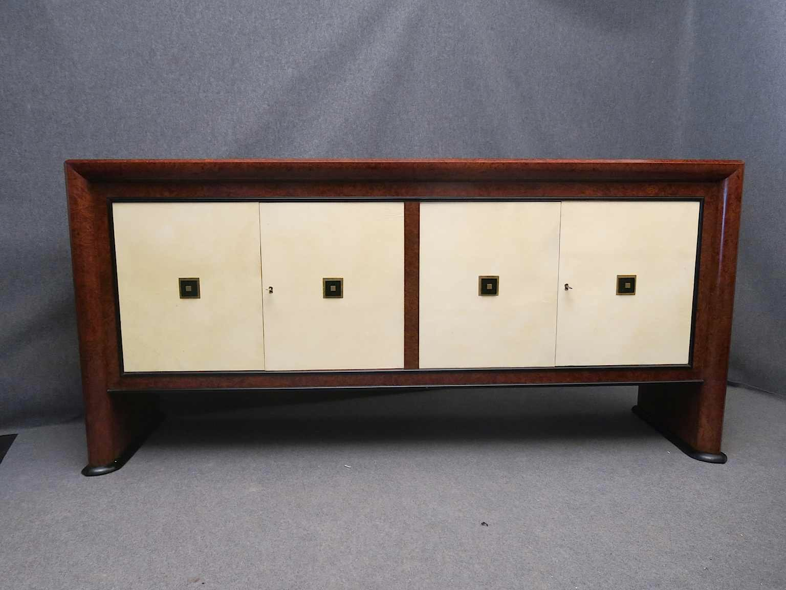 italian art deco sideboard 1940 for sale at pamono. Black Bedroom Furniture Sets. Home Design Ideas