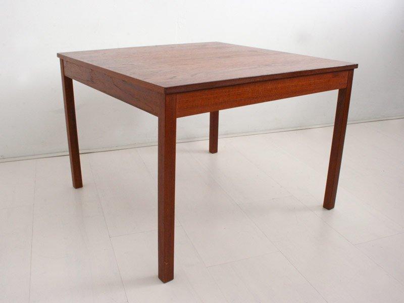 Vintage Danish Teak Side Table For Sale At Pamono