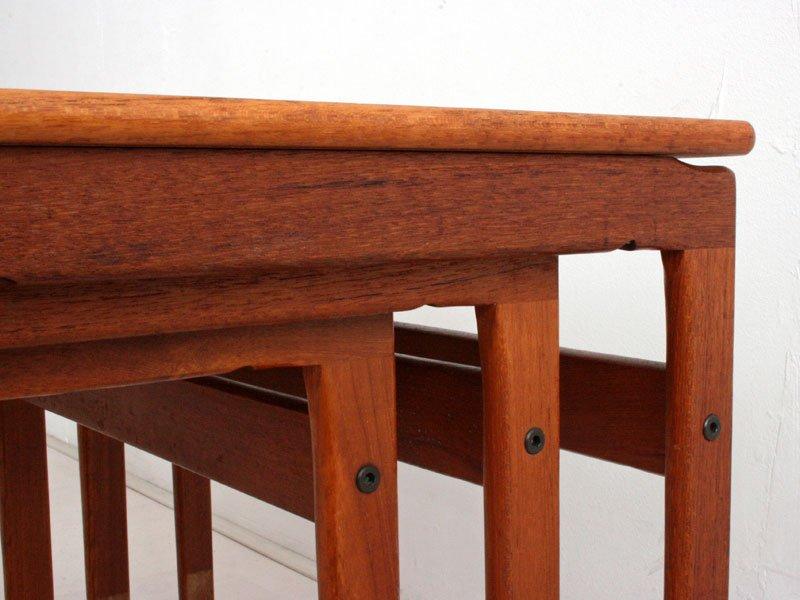 Danish Teak Nesting Tables By Ox Art For Trioh