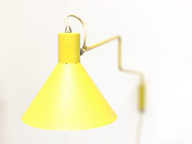 Paperclip Elbow Wall Lamp By J J M Hoogervorst For