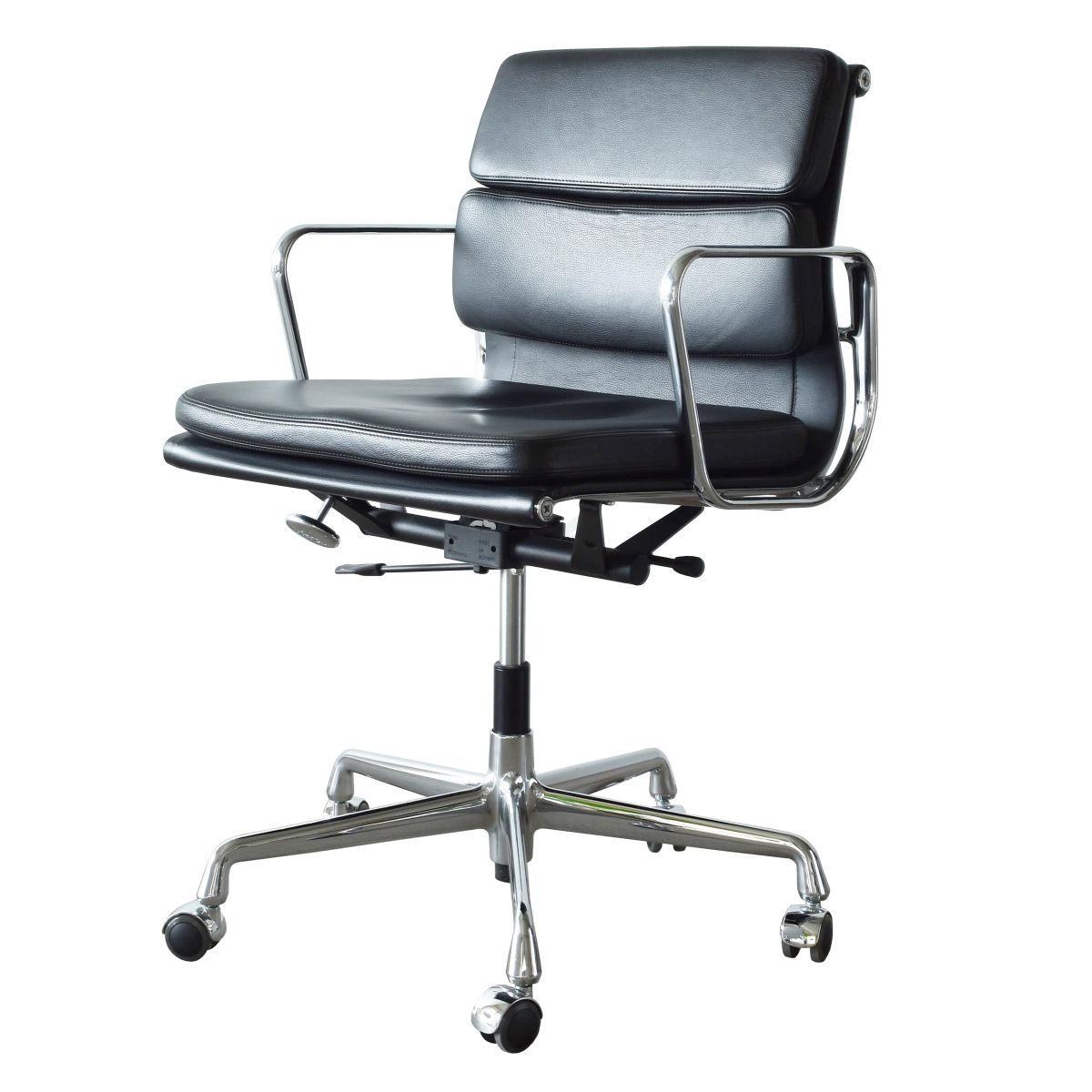 ea217 soft pad management stuhl von charles und ray eames f r vitra bei pamono kaufen. Black Bedroom Furniture Sets. Home Design Ideas