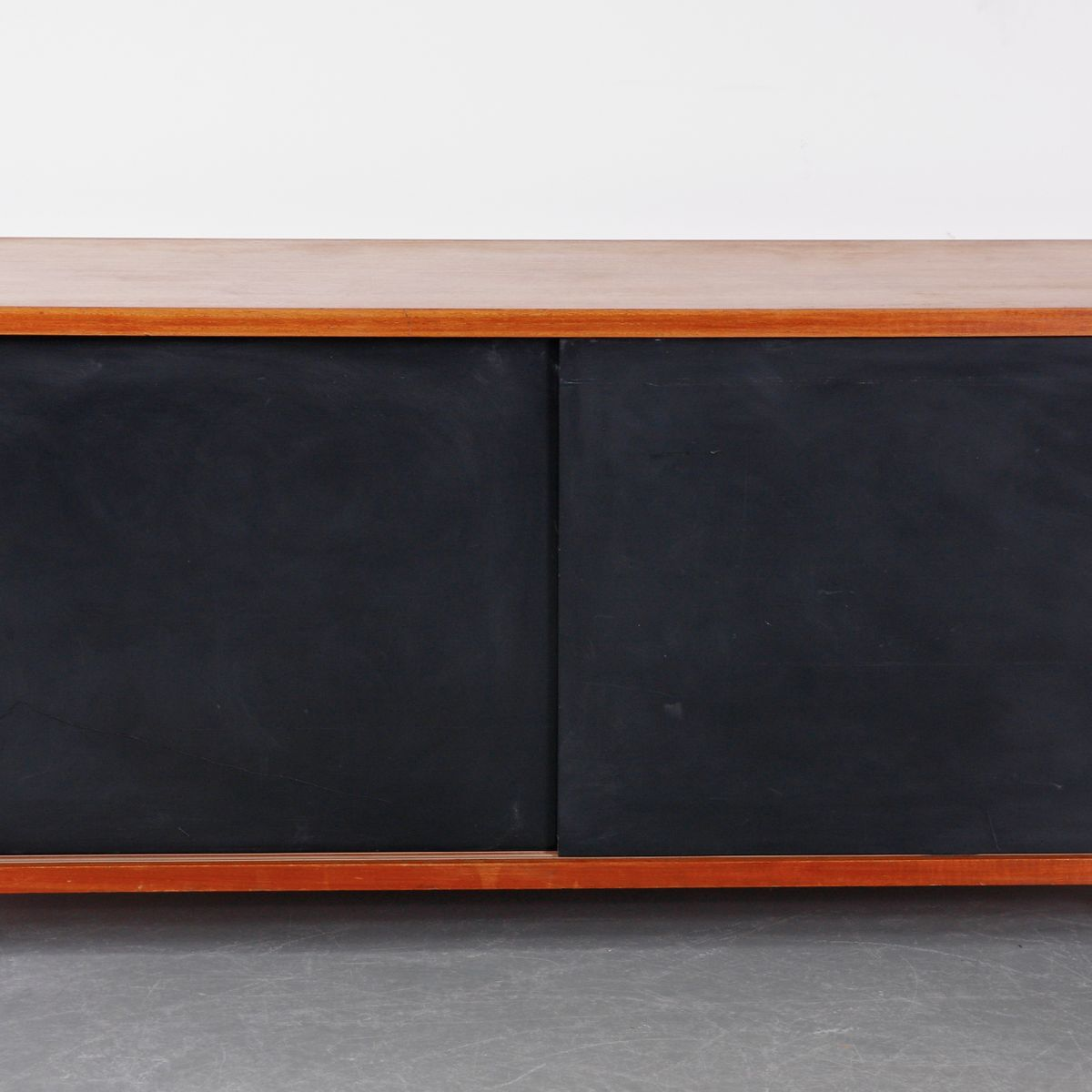 Oak and Metal Sideboard by Cees Braakman for Pastoe, circa ...