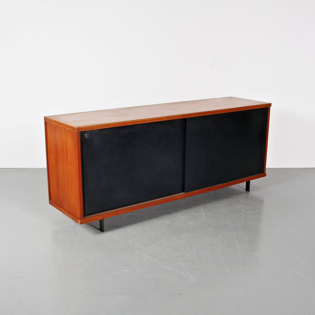 oak and metal sideboard by cees braakman for pastoe circa   - price per piece