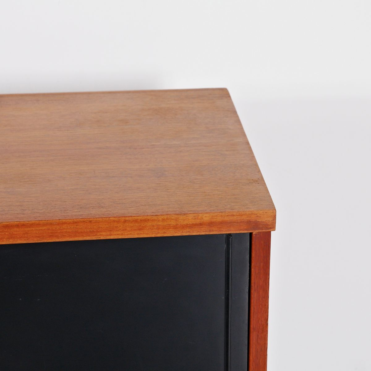 Oak and Metal Sideboard by Cees Braakman for Pastoe, circa ...