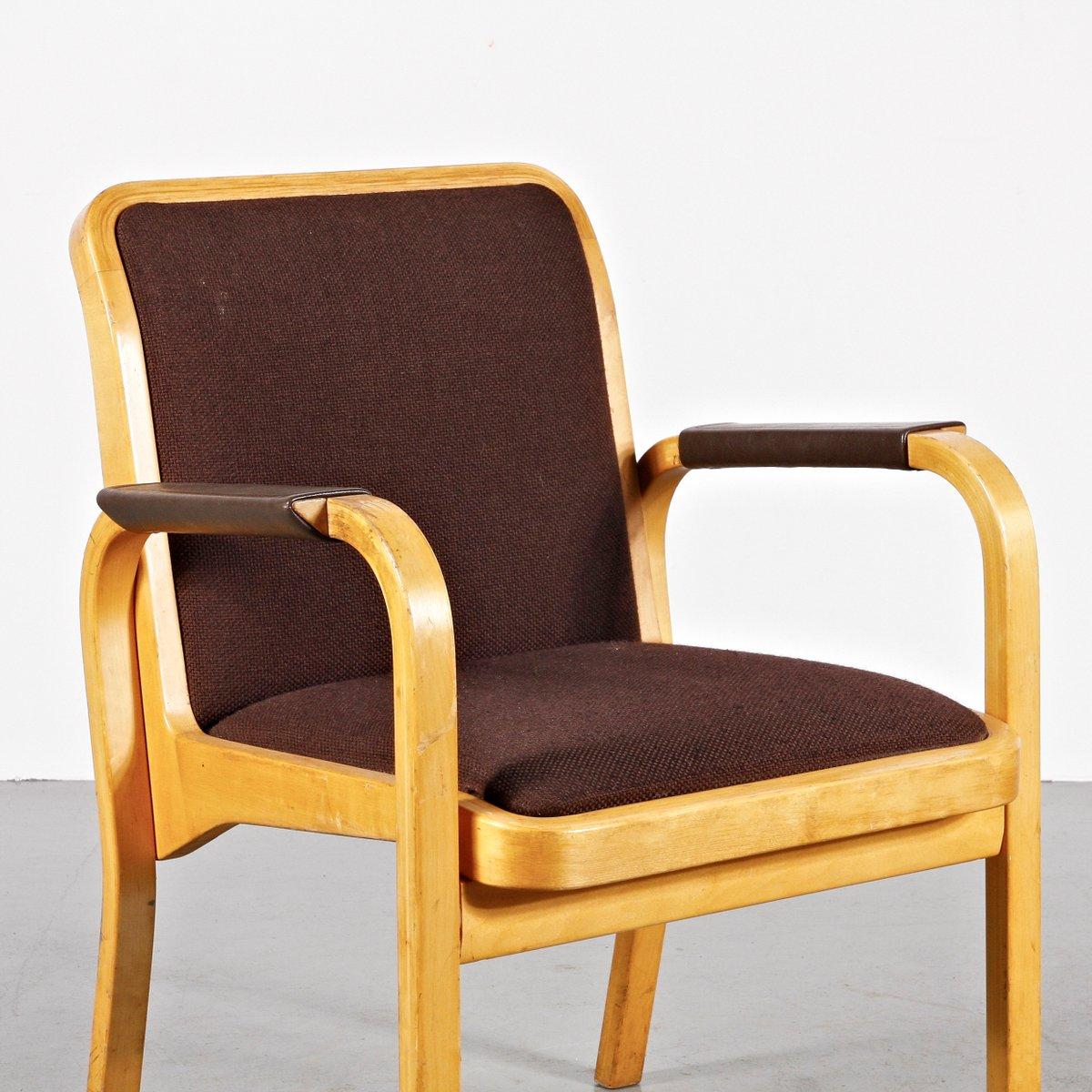 fauteuils par alvar aalto pour artek 1960s set de 4 en vente sur pamono. Black Bedroom Furniture Sets. Home Design Ideas