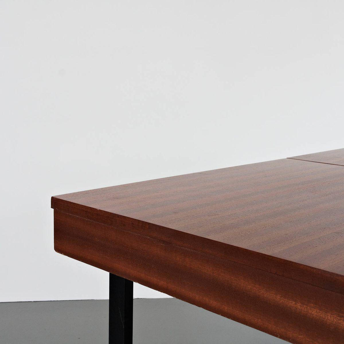 Table de Salle 224 Manger R233glable et Extensible par Pierre  : table de salle a manger reglable et extensible par pierre guariche pour meurop 1950s 5 from www.pamono.fr size 1200 x 1200 jpeg 61kB