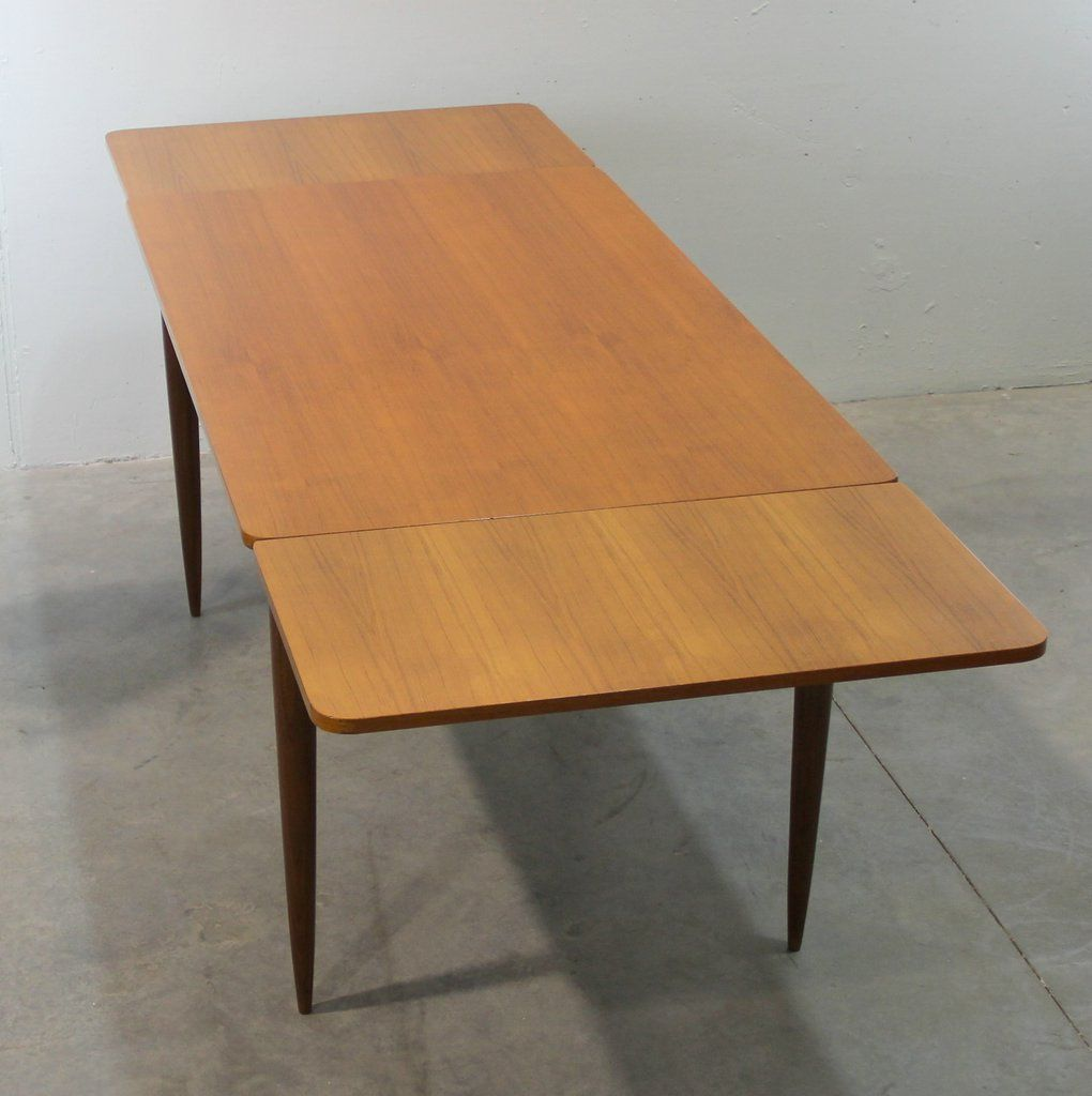Scandinavian dining table 1960s for sale at pamono - Dining table scandinavian ...