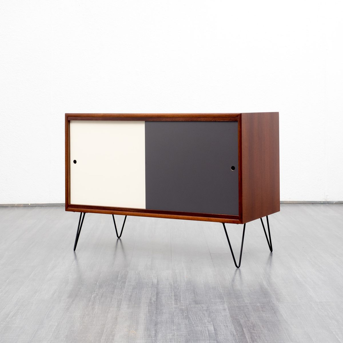Coloured teak sideboard 1960s for sale at pamono for Sideboard petrol