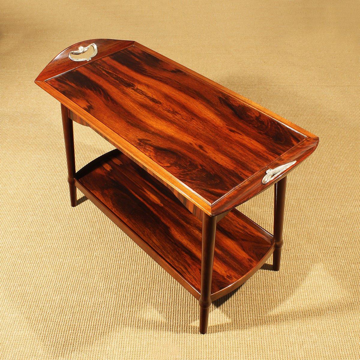 french art nouveau dessert table 1900 for sale at pamono. Black Bedroom Furniture Sets. Home Design Ideas