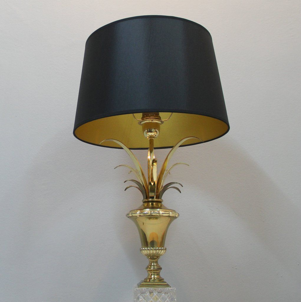 black gold table lamp 1970s for sale at pamono. Black Bedroom Furniture Sets. Home Design Ideas