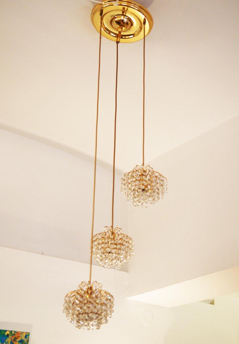 Austrian cut crystal cascading chandelier for sale at pamono austrian cut crystal cascading chandelier arubaitofo Images
