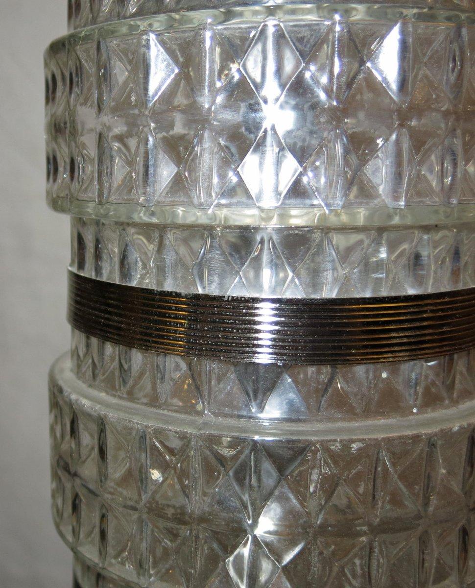 italienische stehlampe aus verspiegeltem glas 1950 bei. Black Bedroom Furniture Sets. Home Design Ideas