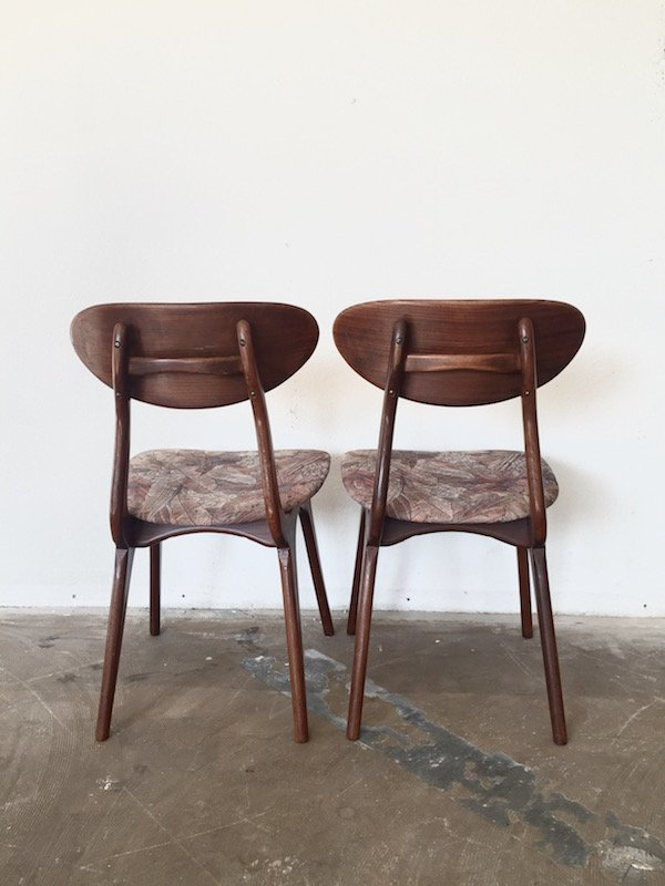 Vintage Dining Chairs By Louis Van Teeffelen For W B Set Of 3 For Sale At P