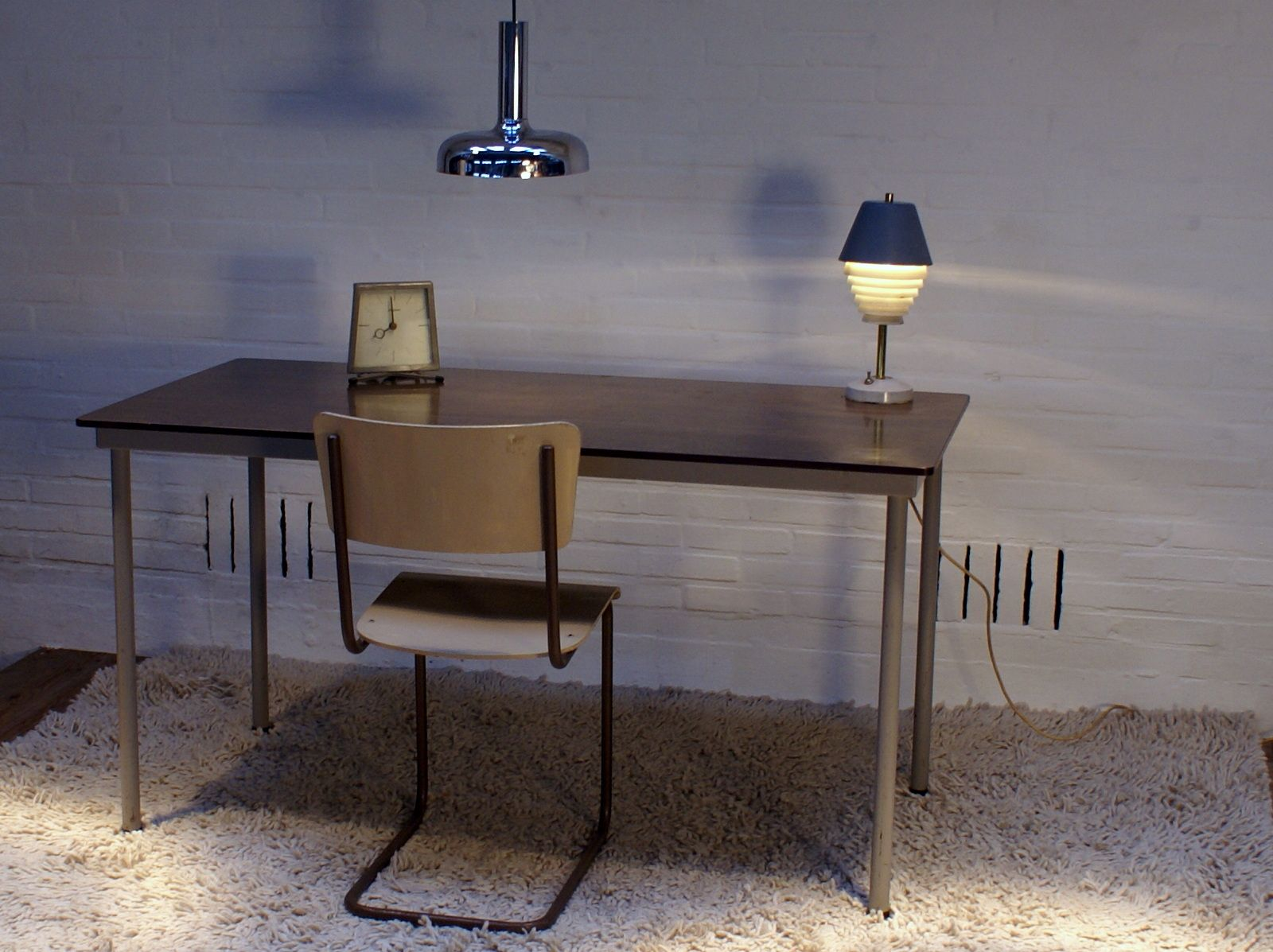 Dutch dining table by friso kramer for ahrend de cirkel 1966 for sale at pamono - Kamer dining ...