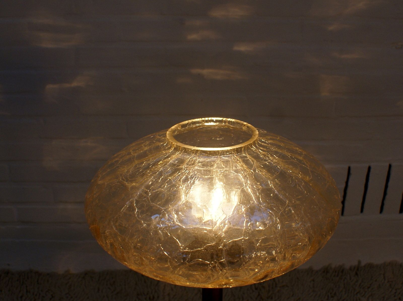 broken look glass table lamp 1950s for sale at pamono On broken glass lamp