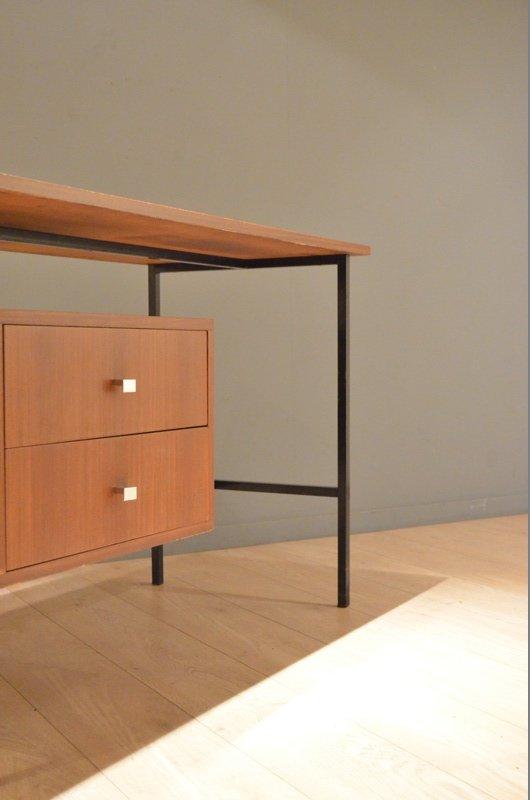 minimalistischer holz schreibtisch von pierre guariche f r meurop bei pamono kaufen. Black Bedroom Furniture Sets. Home Design Ideas