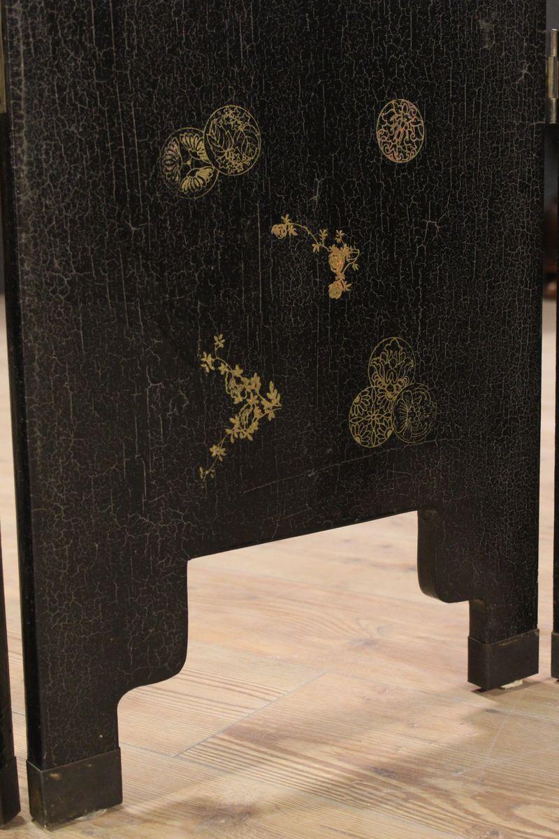 vintage holz raumtrenner bei pamono kaufen. Black Bedroom Furniture Sets. Home Design Ideas