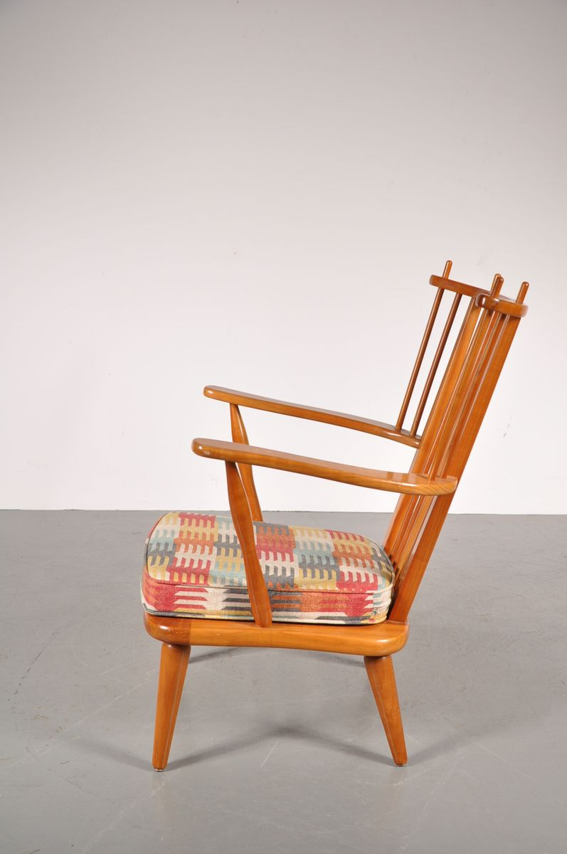 Vintage beech side chair for sale at pamono for Side chairs for sale