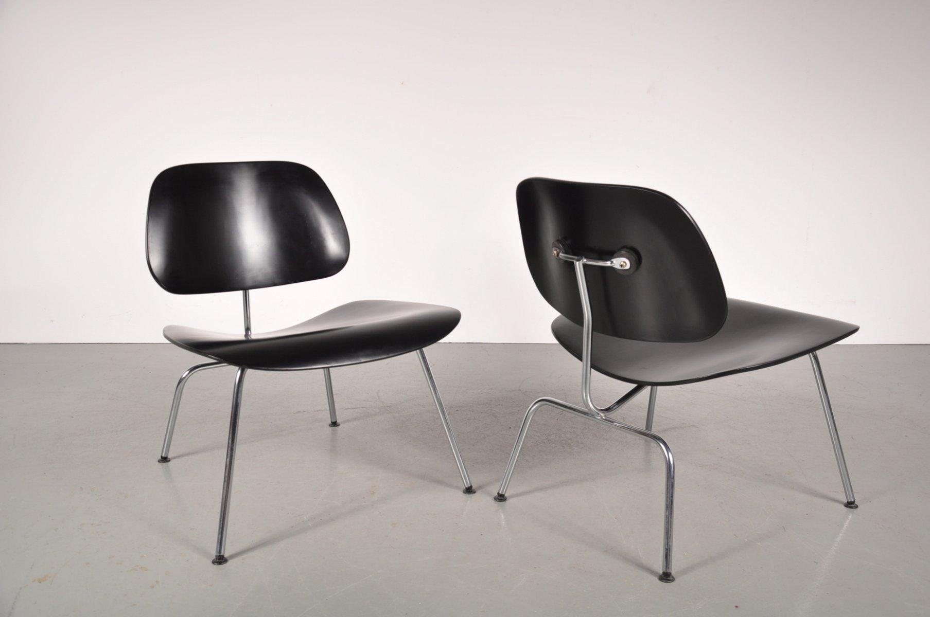 stuhl aus verchromten metall und sperrholz von charles. Black Bedroom Furniture Sets. Home Design Ideas