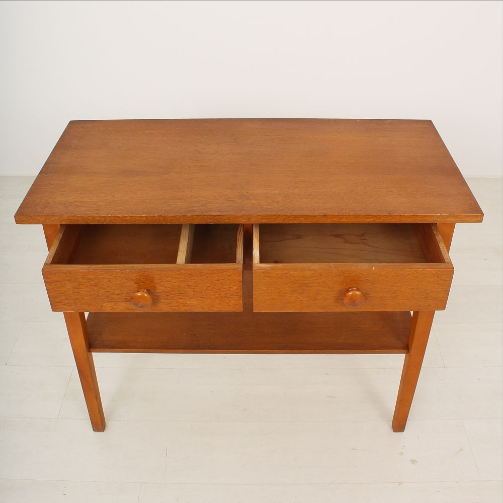 Side table with drawers 1930s for sale at pamono for Large side table with drawers