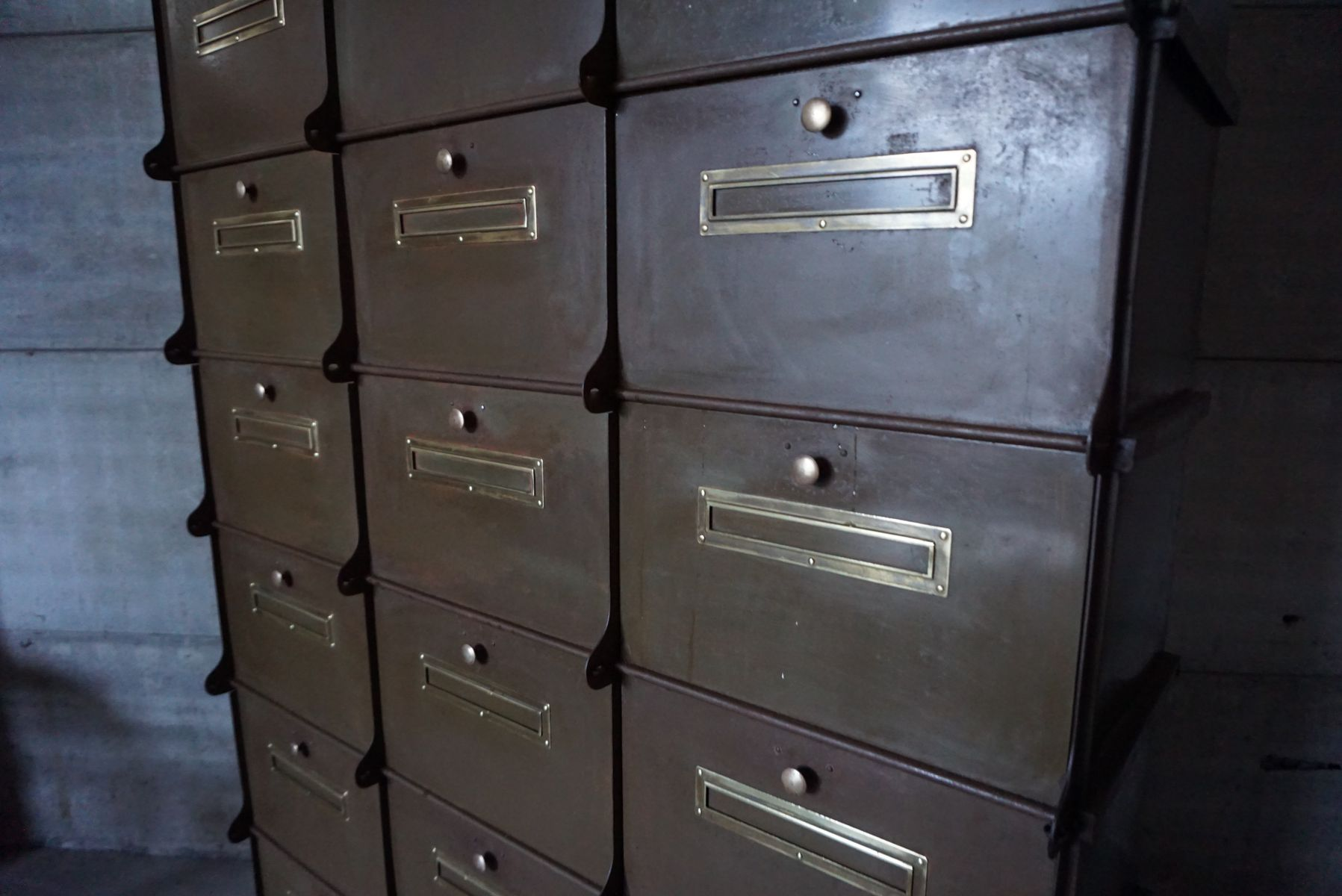 industrial file cabinet industrial filing cabinet from ribeauville for at pamono 17831