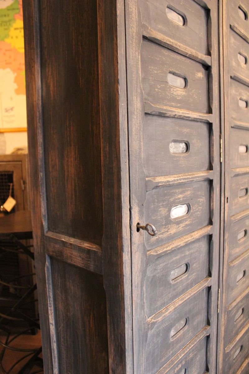 oak notary cabinet for sale at pamono