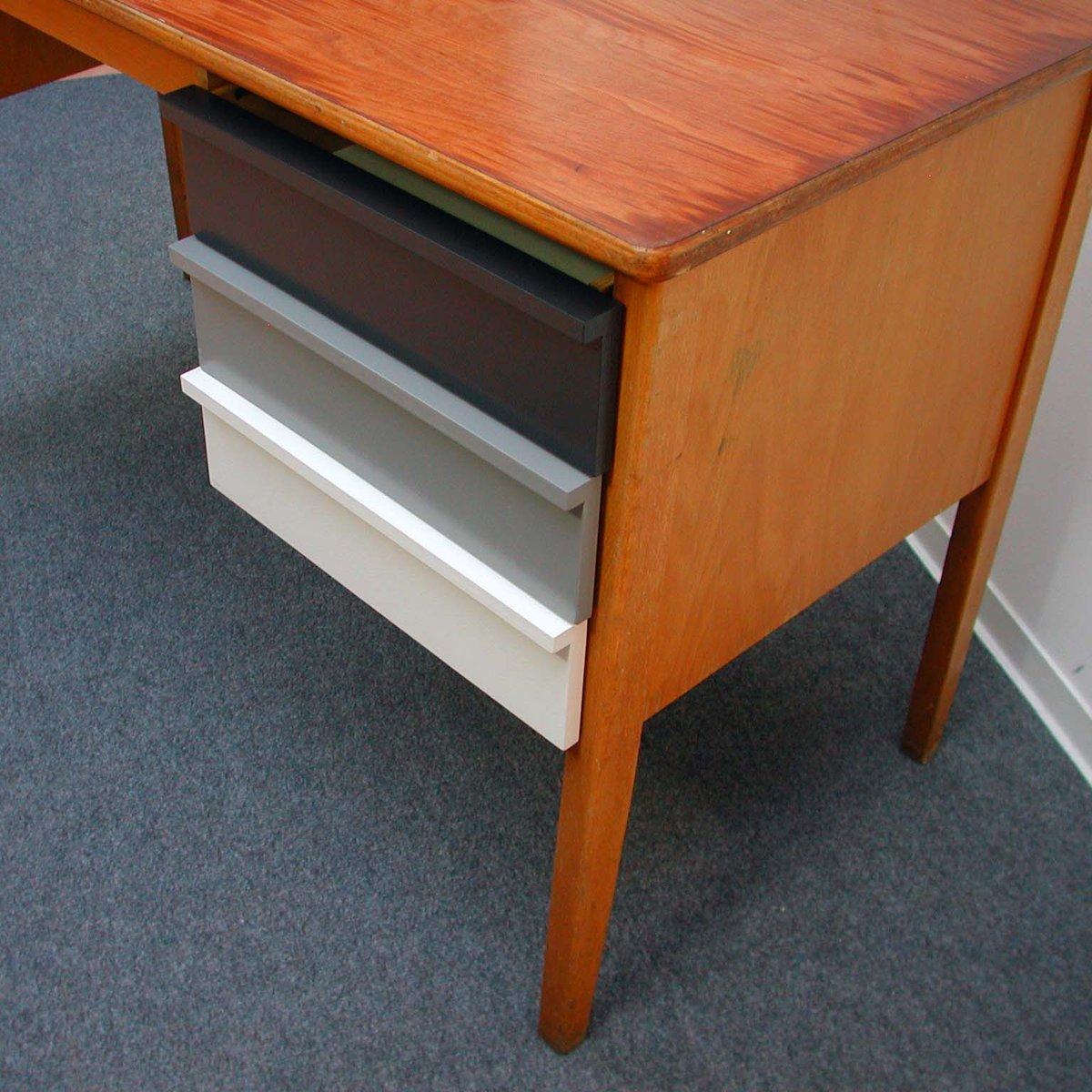 Vintage Wooden Teacher 39 S Desk 1960s For Sale At Pamono