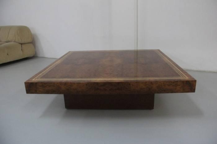 niedriger couchtisch aus wurzelholz 1970 bei pamono kaufen. Black Bedroom Furniture Sets. Home Design Ideas