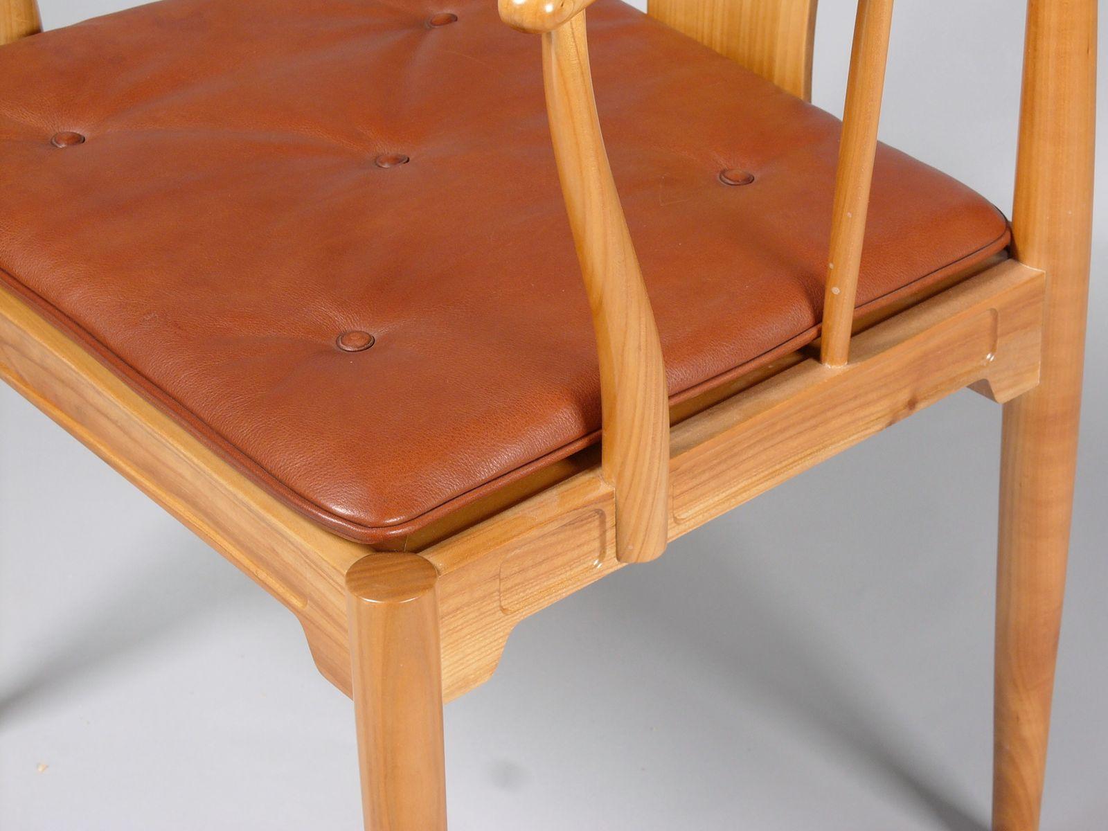 modell fh 4283 china stuhl aus kirschholz von hans j wegner f r fritz hansen 1983 bei pamono. Black Bedroom Furniture Sets. Home Design Ideas