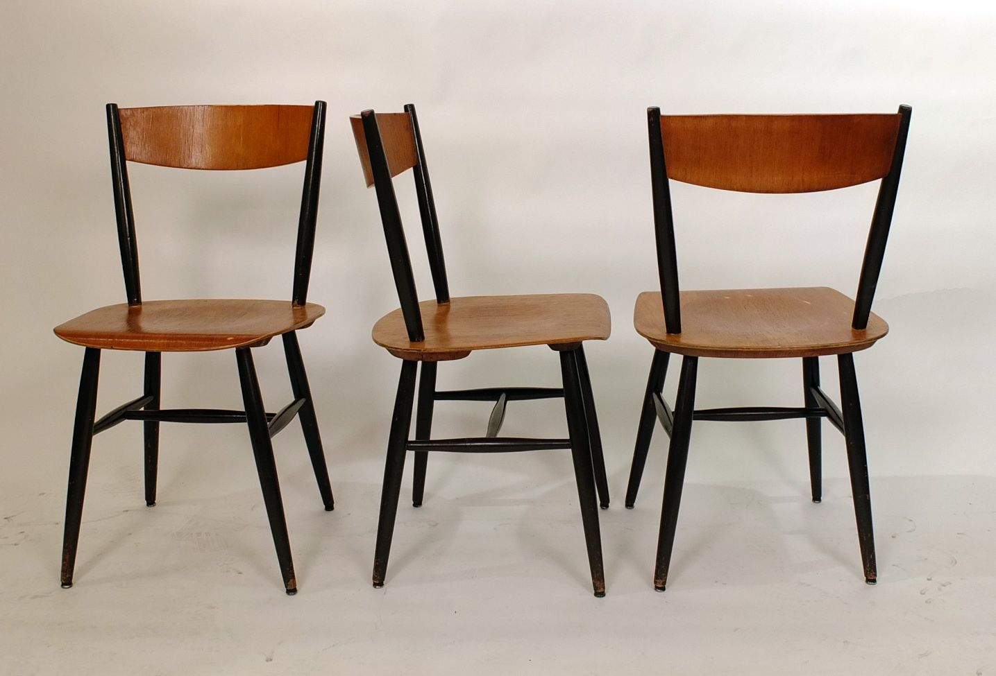 fanett chairs by ilmari tapiovaara for edsby 1958 set of 4 for sale at pamono. Black Bedroom Furniture Sets. Home Design Ideas