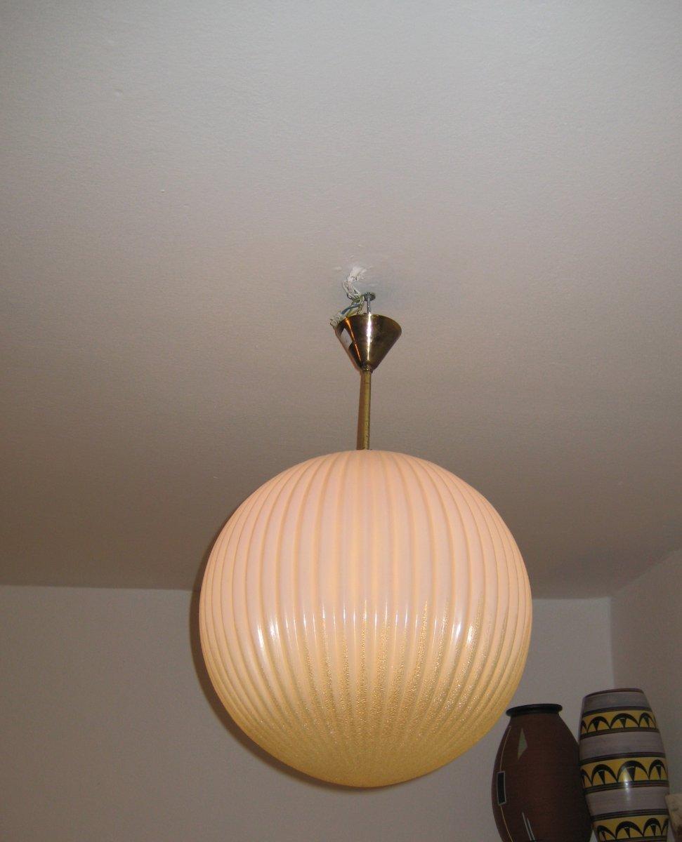 vintage muranoglas h ngelampe 1950er bei pamono kaufen. Black Bedroom Furniture Sets. Home Design Ideas