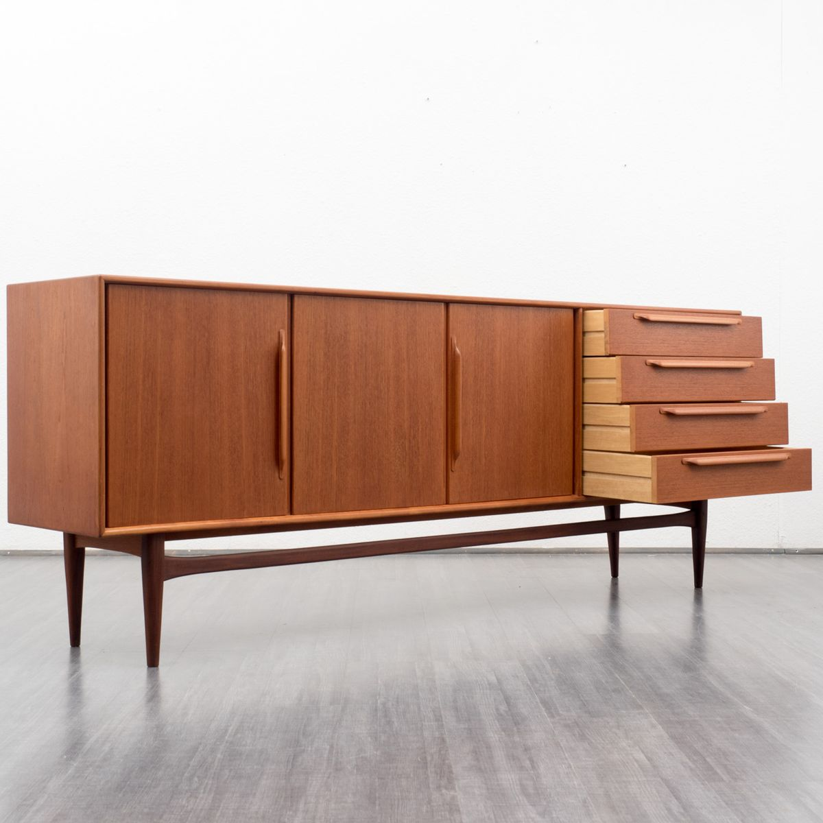 Scandinavian teak sideboard 1960s for sale at pamono for Sideboard scandi