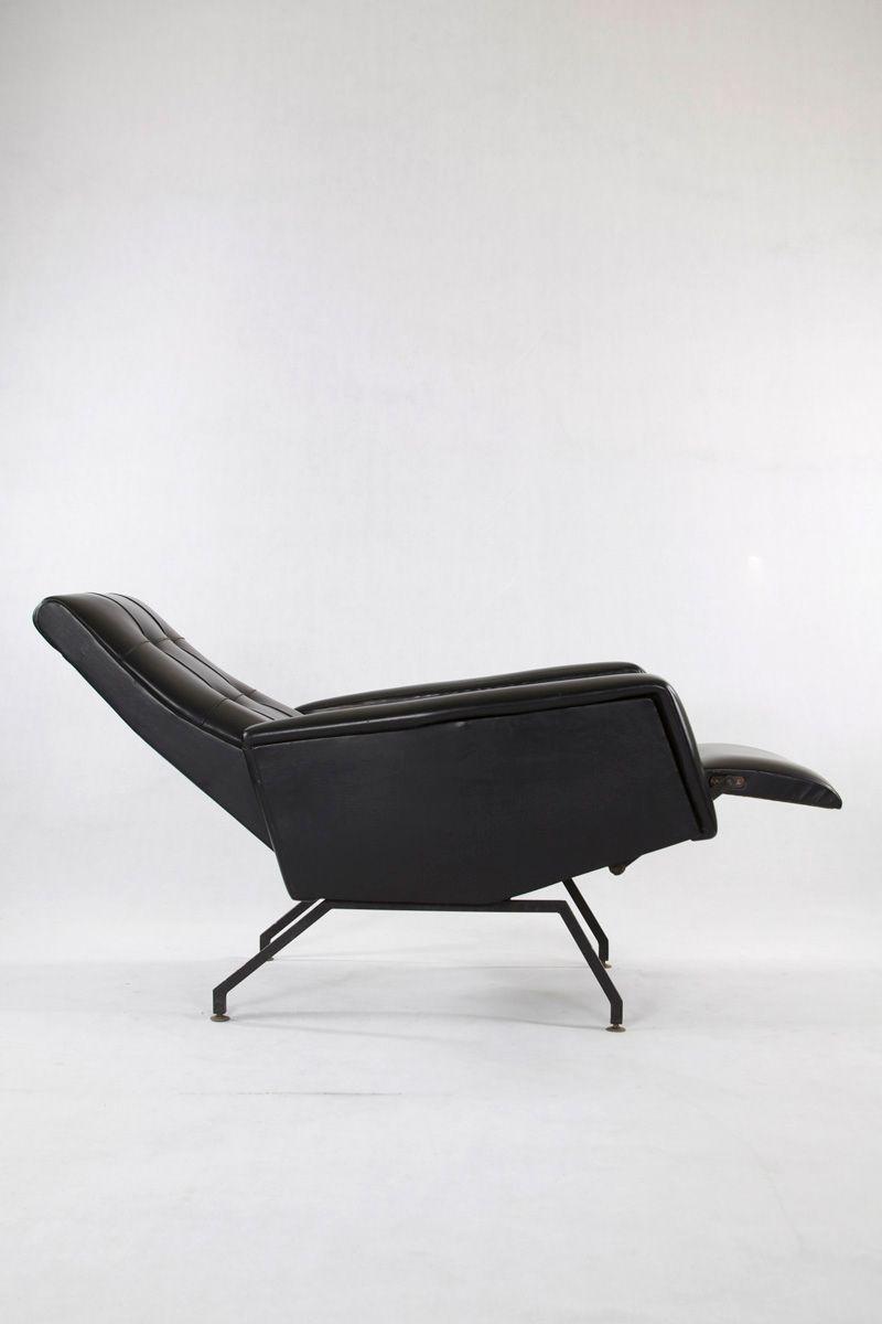 fauteuil inclinable vintage en ska en vente sur pamono. Black Bedroom Furniture Sets. Home Design Ideas