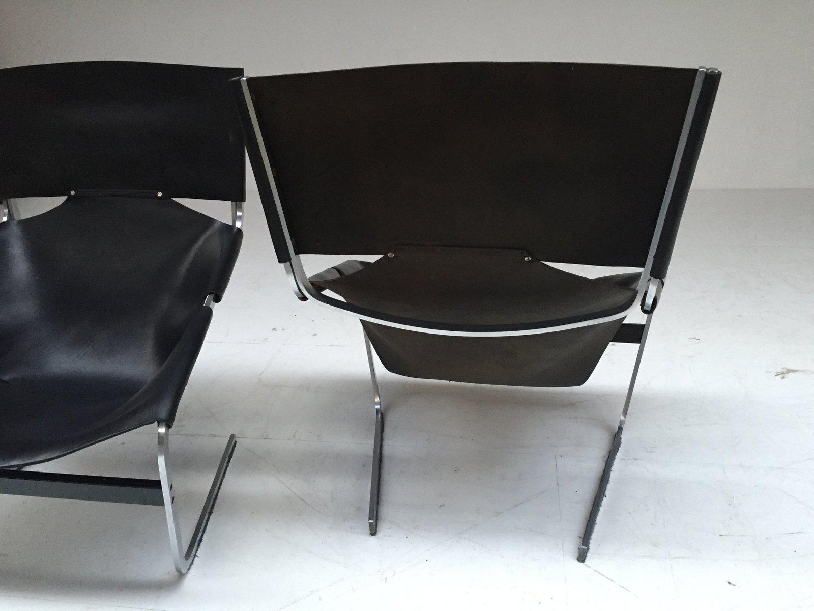 chaise f444 par pierre paulin pour artifort 1965 en vente sur pamono. Black Bedroom Furniture Sets. Home Design Ideas