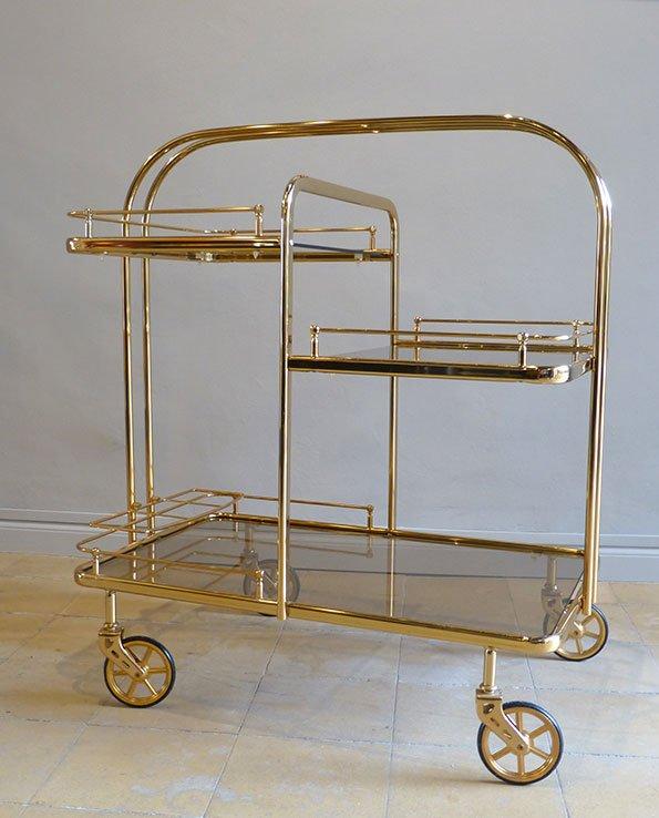vintage getr nke servierwagen bei pamono kaufen. Black Bedroom Furniture Sets. Home Design Ideas
