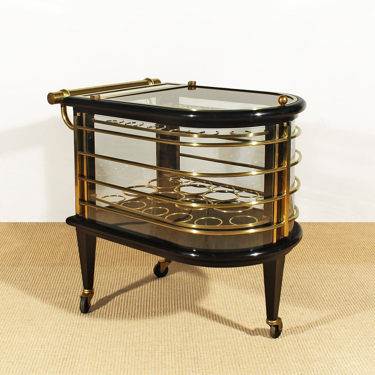 French art deco dry bar trolley 1930s for sale at pamono for Meuble art deco 1930
