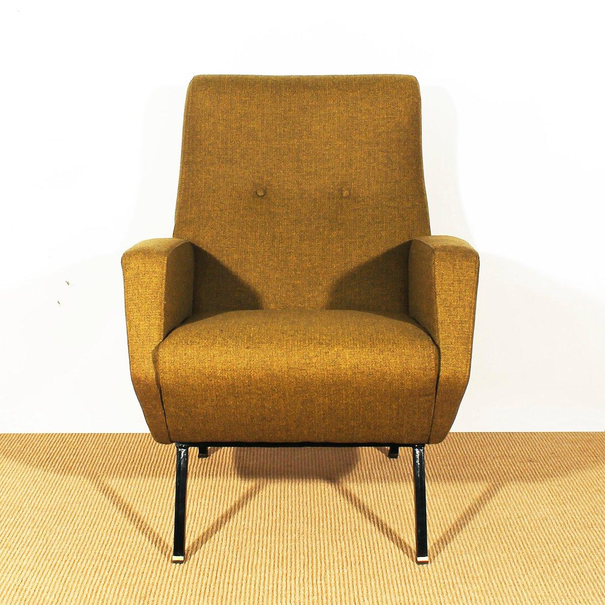 Italienische senffarbene sessel 1960er 2er set bei for Italienische sessel design