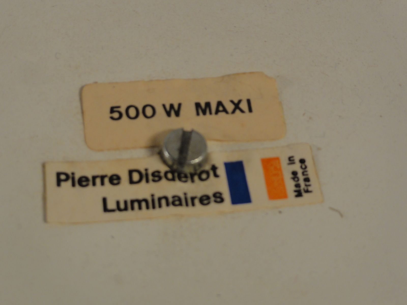 French Appliques from Pierre Disderot Luminaires 1980s Set of 2 for sale at Pamono