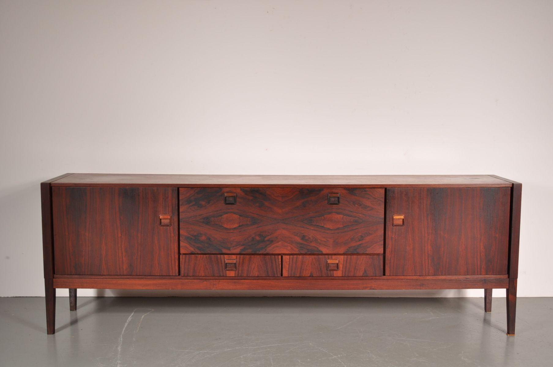 gro es palisander sideboard f r fristho 1960er bei pamono. Black Bedroom Furniture Sets. Home Design Ideas